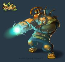 Boss Ankama Fan Fest Dofus Hyperscampe by Catell-Ruz