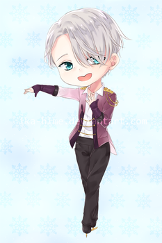 Victor chibi by Ika-Hime