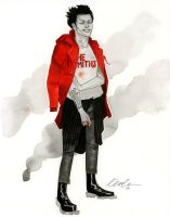 Tetsuo - Austin Wizard World 2014 sketch by kevinwada