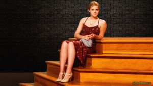 Emma Watson Wallflower Stairs II by Dave-Daring