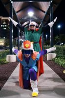 The Great Saiyamen are here by NamekAngelIvy