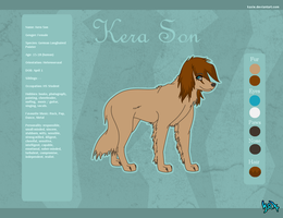 Reference sheet- Kera by KaXie