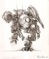 Mech illustration by llAb1ll