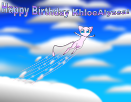 KhloeAlyssa's B-day Request by CCI545