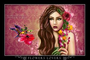 flower lovers by aninels