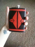 Flask Front by Scubacat17