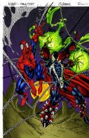 spider-man and spawn by rcardoso530