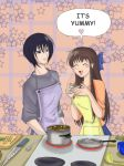 Cooking with Akito and Tohru by Yuna-Bishie-Lover