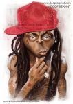 Lil WAYNE by Stephen Lorenzo Walkes by lorenzowalkes