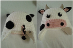 Cow-hat by Winterflamme