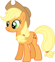 Applejack by GameMasterLuna