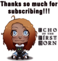 Tapastic Subscription Thanks by Bostonology