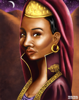 Queen Makeda by evawoman704