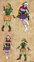 LoZ/PMMM: Puella Magi Link and Ghirahim Concepts by SailorSun546