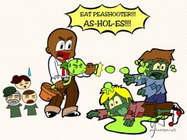Eat Peashooter by philadelphia13