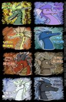 Dragons of Colour by Expression