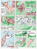 Hunter of the Moon page-9 by LoboSong