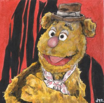 Fozzie Bear by monstercola