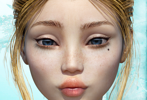 DAZ3D Sallie Face by adn700