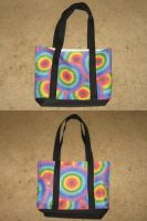 Rainbow Tote by groundhog22