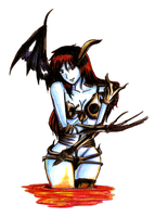 Demoness by LustfulHunter