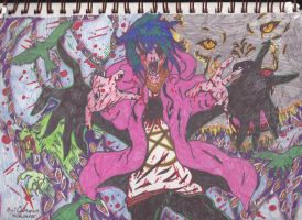 Taste of maddness. Insanity by immortalraven1994