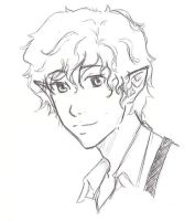 Bilbo sketch by TheNatchan
