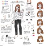 FEATHER DRAGON HUMAN REFERENCE SHEET by Feather-Dragon