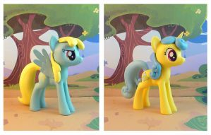 Sassaflash and Lemon Hearts by krowzivitch