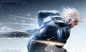 Raiden Metal Gear Rising : Revengeance 02 by ChekydotStudio