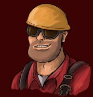 TF2- Engineer by Fab-912