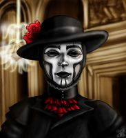 The Spine Venice Carnival Mask by BeetheGatekeeper