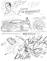 To the Trevormobile!!! by Atteez