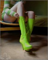 green boots by ArtOriginal