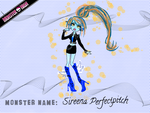 Sireen Perfectpitch - Monster High submission by BloomingxSunflower