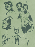 Sketch Page: Tullah by Hooke