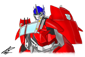 Optimus... by LPIridescent