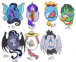 FREE Pony Adoptables 1 by magefeathers