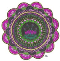 Lotus Mandala by Jewelfly