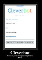 Cleverbot Blasphemy by BloodRose1993