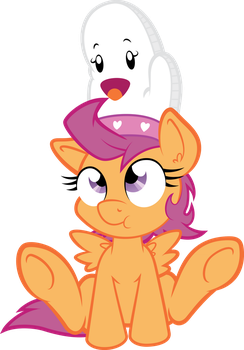 Scootaloo's Oven Mit by xHaZxMaTx