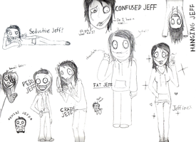 JEFF, JEFF EVERYWHERE by Deerigal