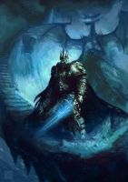 Lich king by ImmarArt