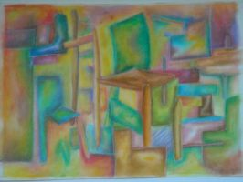 Cubism Study 2 by MissElsy