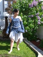 first outfit i sew 3 by Wilya12