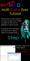 MMD Tutorial: Mismatched Eyes by xxDraconikaxx