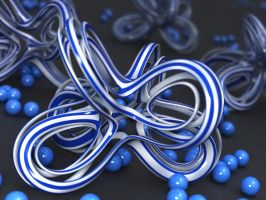 Knots and Balls by LuxXeon