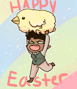 happy Easter by MeowTownPolice