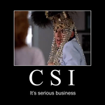 Motivational Poster - CSI by Cba321st