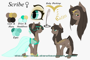 Two Day Auction -Scribe- Closed by Danie-me